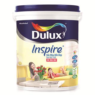 Sơn Nội Thất Dulux Inspire Sắc Màu Bền Đẹp Bề Mặt Mờ 18L