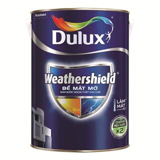 Sơn Ngoại Thất Cao Cấp Dulux Weathershield 5L