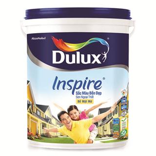 Sơn Ngoại Thất Dulux Inspire Sắc Màu Bền Đẹp Bề Mặt Bóng 18L