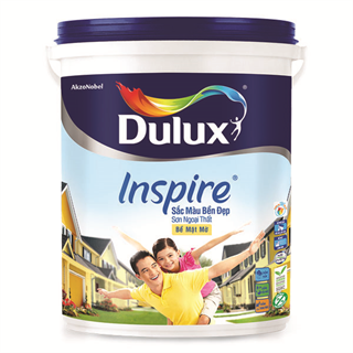Sơn Ngoại Thất Dulux Inspire Sắc Màu Bền Đẹp Bề Mặt Mờ 5L