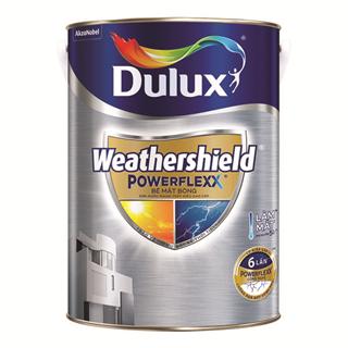 Sơn Ngoại Thất Siêu Cao Cấp Dulux Weathershield Powerflexx 5L
