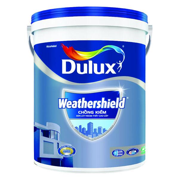 Sơn Lót Ngoại Thất Dulux Weathershield Chống Kiềm 5L
