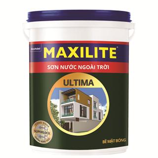 Sơn Nước Ngoài Trời Maxilite Ultima - Bề mặt Bóng 18L