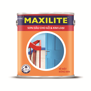 Sơn Dầu Cho Gỗ & Kim Loại Maxilite 0.8L
