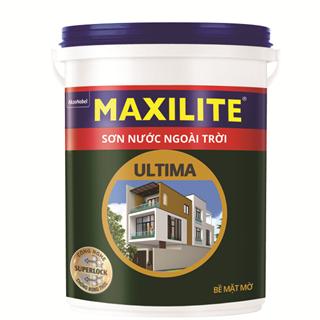 Sơn Nước Ngoài Trời Maxilite Ultima - Bề mặt mờ 18L