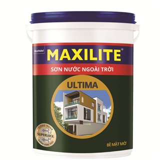 Sơn Nước Ngoài Trời Maxilite Ultima - Bề mặt mờ 5L