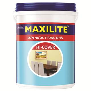Sơn Nước Trong Nhà Maxilite Hi-Cover 18L