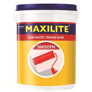 Sơn Nước Trong Nhà Maxilite Smooth 18L
