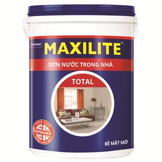 Sơn Nước Trong Nhà Maxilite Total 18L